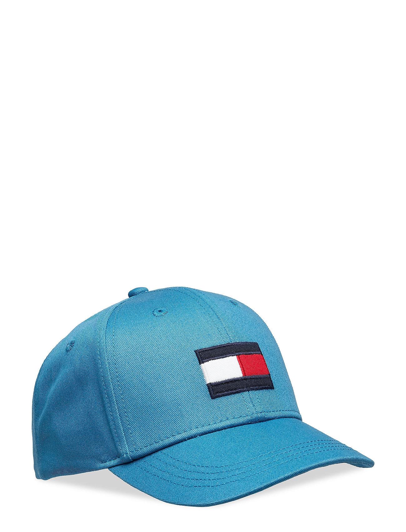 Tommy Hilfiger BIG FLAG CAP - SAXONY BLUE
