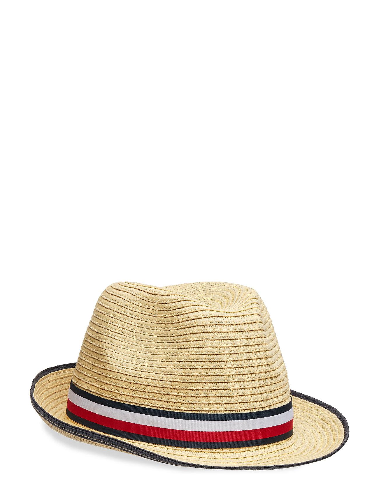Tommy Hilfiger BOYS STRAW HAT - NATURAL