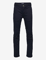 Tommy Hilfiger - BOYS SLIM CHINO OSTW PD - trousers - sky captain - 0