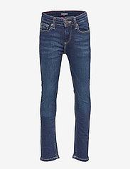 Tommy Hilfiger - BOYS SCANTON SLIM NY - jeans - new york dark stretch - 0
