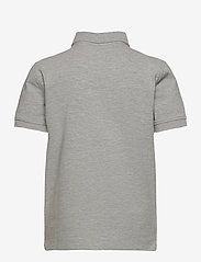 Tommy Hilfiger - BOYS TOMMY POLO S/S - polo shirts - grey heather - 1