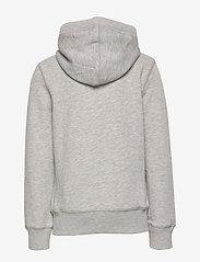 Tommy Hilfiger - BOYS BASIC ZIP HOODI - hoodies - grey heather - 1