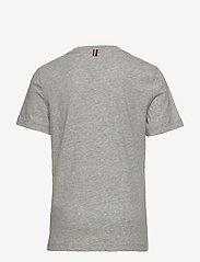 Tommy Hilfiger - BOYS BASIC VN KNIT S - short-sleeved - grey heather - 1