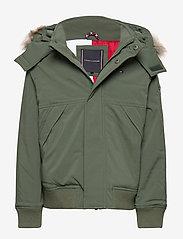 Tommy Hilfiger - TECH JACKET - bomber jackets - thyme - 0