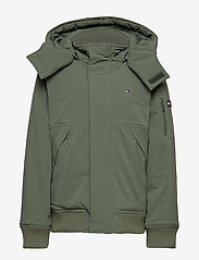 Tommy Hilfiger - TECH JACKET - bomber jackets - thyme - 2