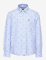 Tommy Hilfiger - FLAG OXFORD SHIRT L/ - shirts - regatta - 0