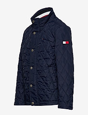 Tommy Hilfiger - CLASSIC QUILTED JACKET - puffer & padded - black iris - 3