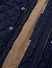 Tommy Hilfiger - CLASSIC QUILTED JACKET - puffer & padded - black iris - 4