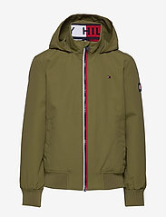 Tommy Hilfiger - ESSENTIAL JACKET - bomber jackets - uniform olive - 1