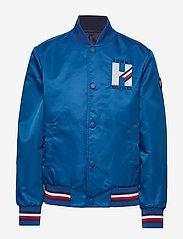 Tommy Hilfiger - REVERSIBLE TH LOGO - bomber jackets - twilight navy / lapis lazuli - 0