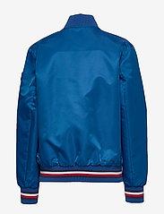 Tommy Hilfiger - REVERSIBLE TH LOGO - bomber jackets - twilight navy / lapis lazuli - 1