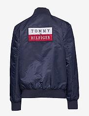 Tommy Hilfiger - REVERSIBLE TH LOGO - bomber jackets - twilight navy / lapis lazuli - 4