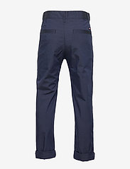 Tommy Hilfiger - PLEATED TAPE CHINO - trousers - twilight navy 654-860 - 2