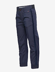 Tommy Hilfiger - PLEATED TAPE CHINO - trousers - twilight navy 654-860 - 4