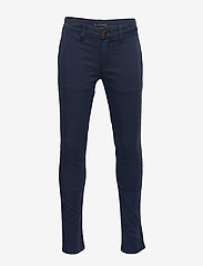 Tommy Hilfiger - ESSENTIAL SKINNY CHI - trousers - twilight navy - 0