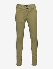 Tommy Hilfiger - ESSENTIAL SKINNY CHI - trousers - uniform olive 548-640 - 0