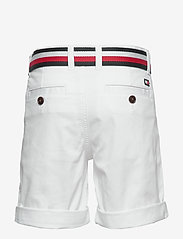 Tommy Hilfiger - ESSENTIAL BELTED CHI - shorts - white 658-170 - 2