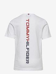 Tommy Hilfiger - REFLECTIVE HILFIGER TEE S/S - short-sleeved - white 658-170 - 1