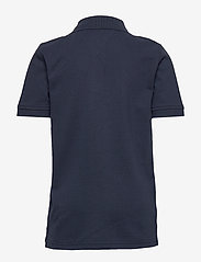 Tommy Hilfiger - ESSENTIAL LOGO CHEST POLO S/S - polo shirts - twilight navy 654-860 - 1