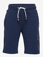 Tommy Hilfiger - ESSENTIAL SWEATSHORTS - shorts - twilight navy - 0