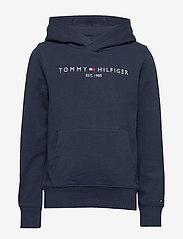 Tommy Hilfiger - ESSENTIAL HOODIE - hoodies - twilight navy 654-860 - 0