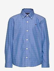 Tommy Hilfiger - MINI PRINT HILFIGER - shirts - regatta 18-4039 - 0