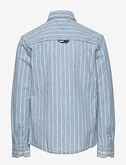Tommy Hilfiger - DENIM STRIPE SHIRT L - shirts - denim light 01 - 1