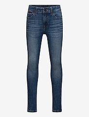 Tommy Hilfiger - SIMON SUPER SKINNY - DYNBLU - jeans - dynamic med blue 4waystr - 0