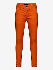 Tommy Hilfiger - ESSENTIAL SLIM CHINO TH FLEX - trousers - bonfire orange - 0