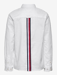 Tommy Hilfiger - BACK DETAIL STRETCH OXFORD SHIRT - overhemden - white - 1