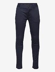 Tommy Hilfiger - ESSENTIAL  TH FLEX SKINNY CHINOS - trousers - twilight navy - 0