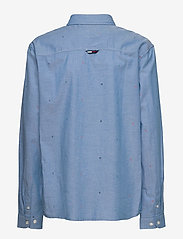 Tommy Hilfiger - AOP OXFORD SHIRT L/S - overhemden - blue allover - 1