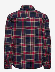 Tommy Hilfiger - OXFORD  CHECK SHIRT L/S - overhemden - blue check/deep crimson - 1