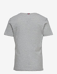 Tommy Hilfiger - GLOBAL STRIPE GRAPHIC TEE S/S - short-sleeved - grey heather - 1