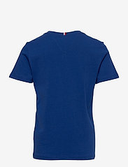 Tommy Hilfiger - GLOBAL STRIPE GRAPHIC TEE S/S - short-sleeved - regal navy - 1
