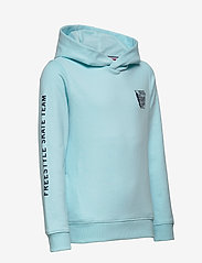 Tommy Hilfiger - TH COOL GRAPHIC HOODIE - frost blue - 2