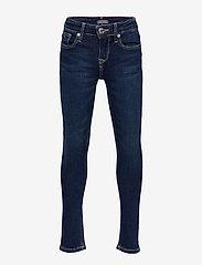 Tommy Hilfiger - GIRLS NORA SKINNY NY - jeans - new york dark stretch - 0
