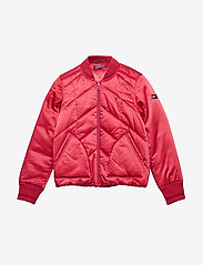Tommy Hilfiger - ESSENTIAL QUILTED PA - bomber jackets - raspberry wine - 0