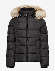 Tommy Hilfiger - ESSENTIAL BASIC DOWN - puffer & padded - tommy black - 1
