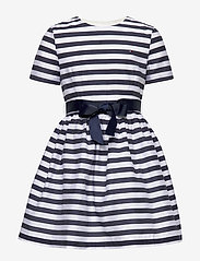 Tommy Hilfiger - NAUTICAL STRIPE DRESS - robes - white stripe 01 - 0