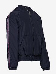 Tommy Hilfiger - ESSENTIAL TOMMY TAPE JACKET - bomber jackets - black iris - 6