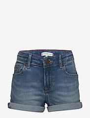 Tommy Hilfiger - NORA BASIC SHORT OCL - shorts - ocean light blue stretch - 0