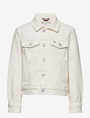 Tommy Hilfiger - GIRLS BOXY TRUCKER NADC - denimjakker - natural denim comfort - 0