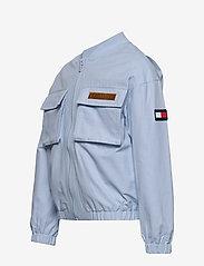 Tommy Hilfiger - TOMMY UTILITY BOMBER JACKET - bomber jackets - calm blue - 2