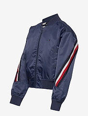 Tommy Hilfiger - GLOBAL STRIPE TAPED BOMBER - bomber jackets - twilight navy - 2