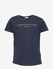 Tommy Hilfiger - ESSENTIAL  TEE S/S - short-sleeved - twilight navy - 0