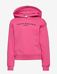 Tommy Hilfiger - ESSENTIAL HOODED SWE - hoodies - blush red - 0