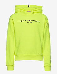 Tommy Hilfiger - ESSENTIAL HOODED SWE - hoodies - safety yellow - 0