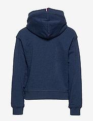 Tommy Hilfiger - ESSENTIAL HOODED SWE - hoodies - twilight navy - 1