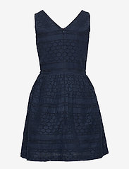 Tommy Hilfiger - BRODERIE ANGLAISE DRESS SLVLS - nightdresses - twilight navy - 1